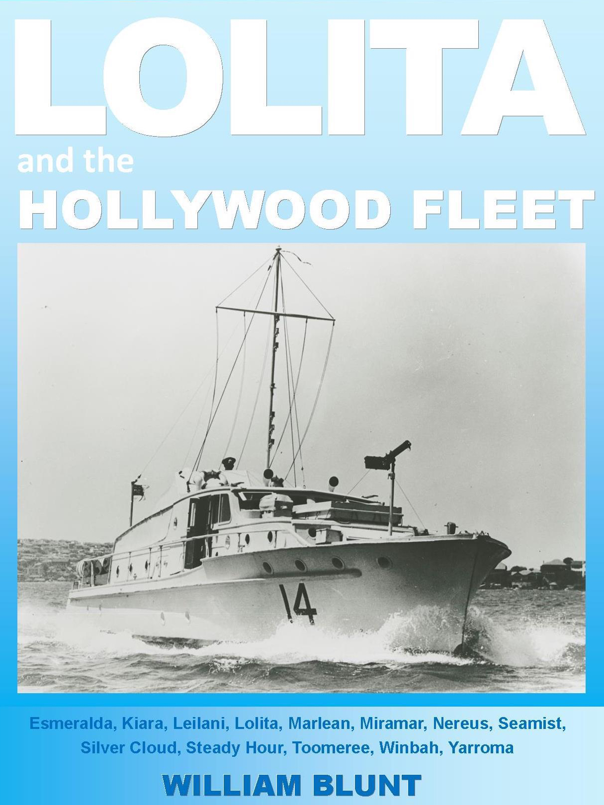 Lolita and the Hollywood Fleet - Book Cover