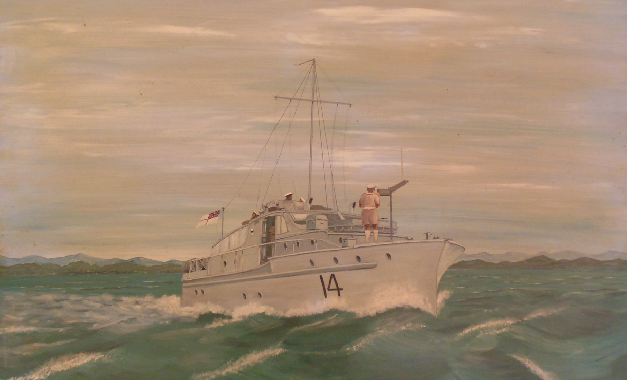 1945 Channel Patrol Boat Lolita by Norman Louis (Dick) Willis, 1984